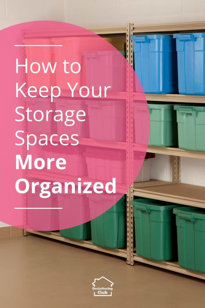 Check out these easy ways to make and keep your home storage spaces more organized.