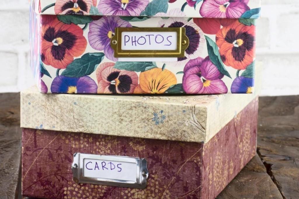 labels organizing storage spaces