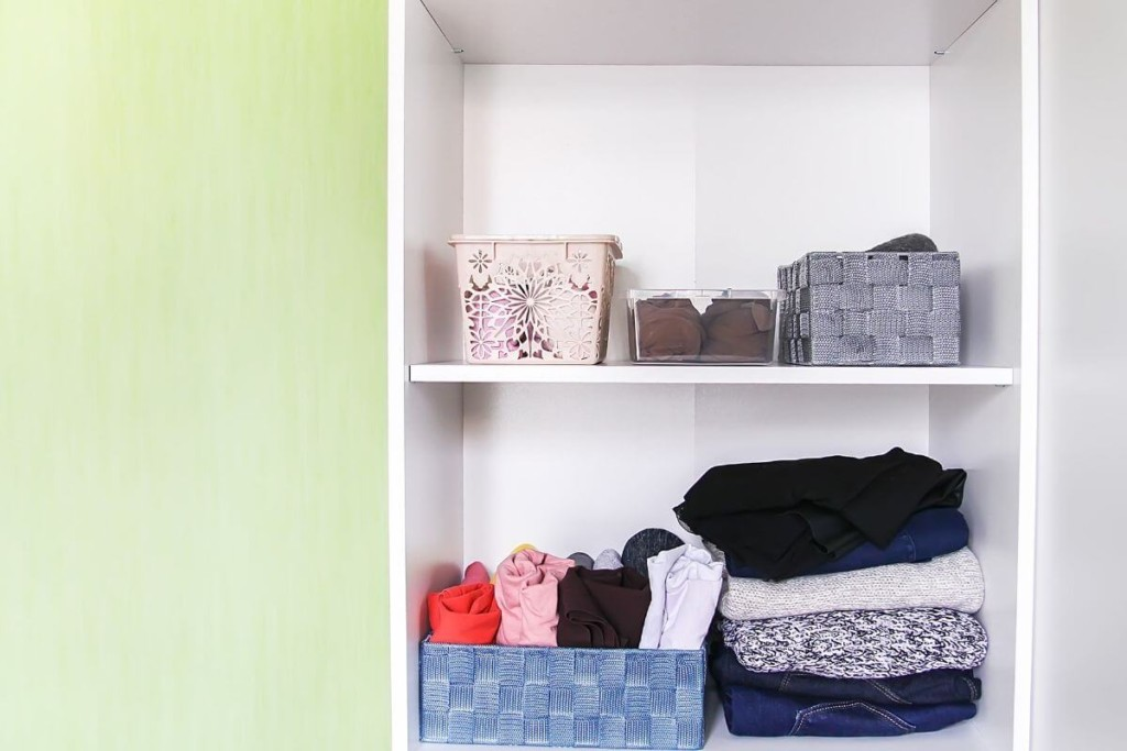 organize what you already decluttered