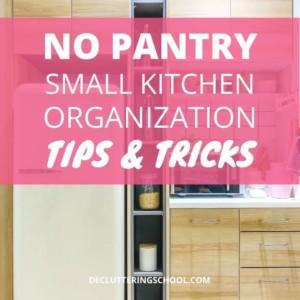 no pantry kitchen organization cover