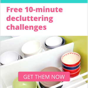 get your free decluttering challenges